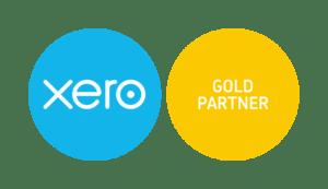 Xero Gold Partner logo