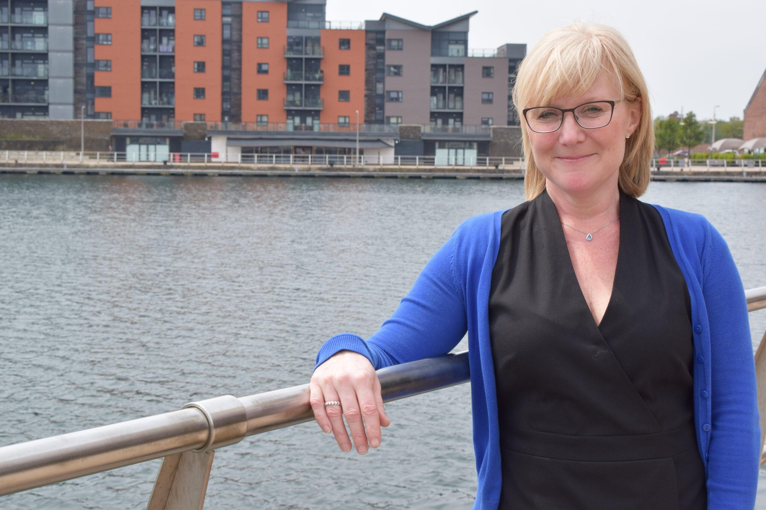 Sara Dennis,Director of Bevan Buckland LLP standing down on Swansea Waterfront