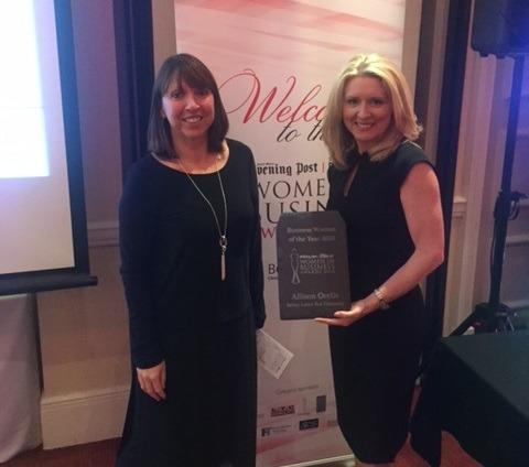 Winner of the Women in Business Awards 2016