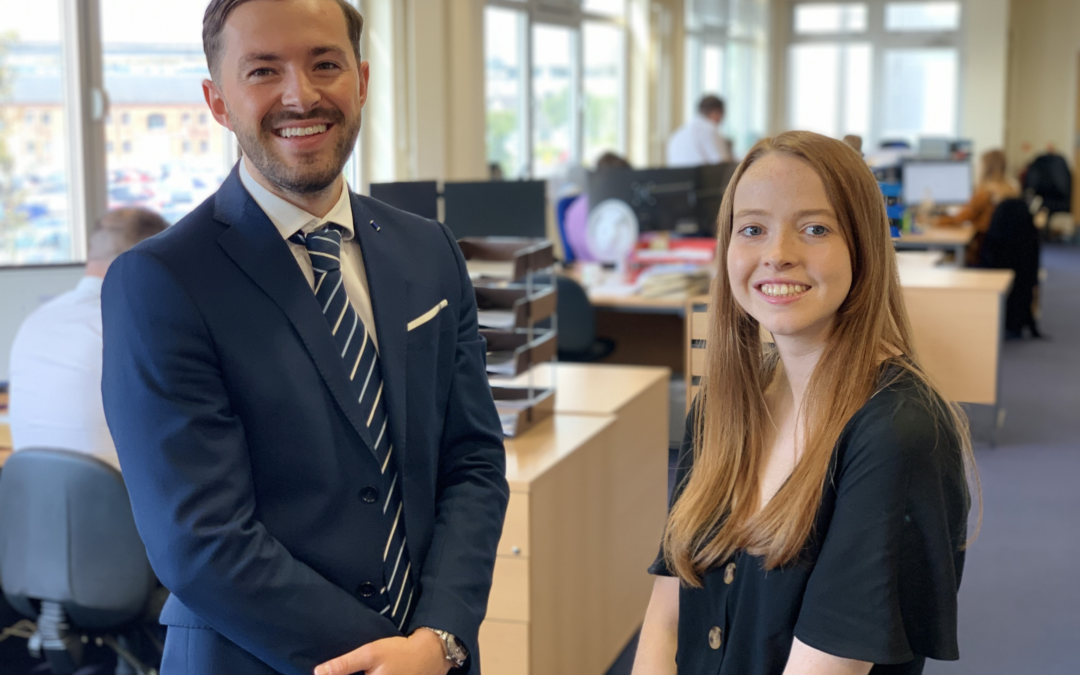 Work Experience Pays Off For Two Budding Chartered Accountants As They Secure Permanent Positions