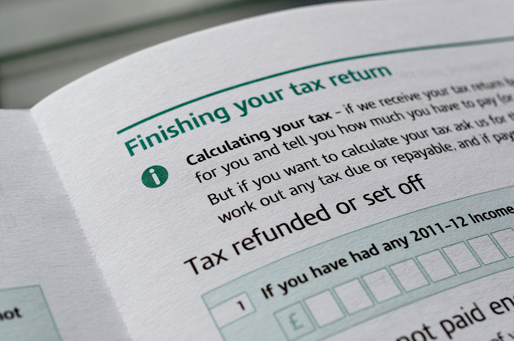 Tax Return submission form