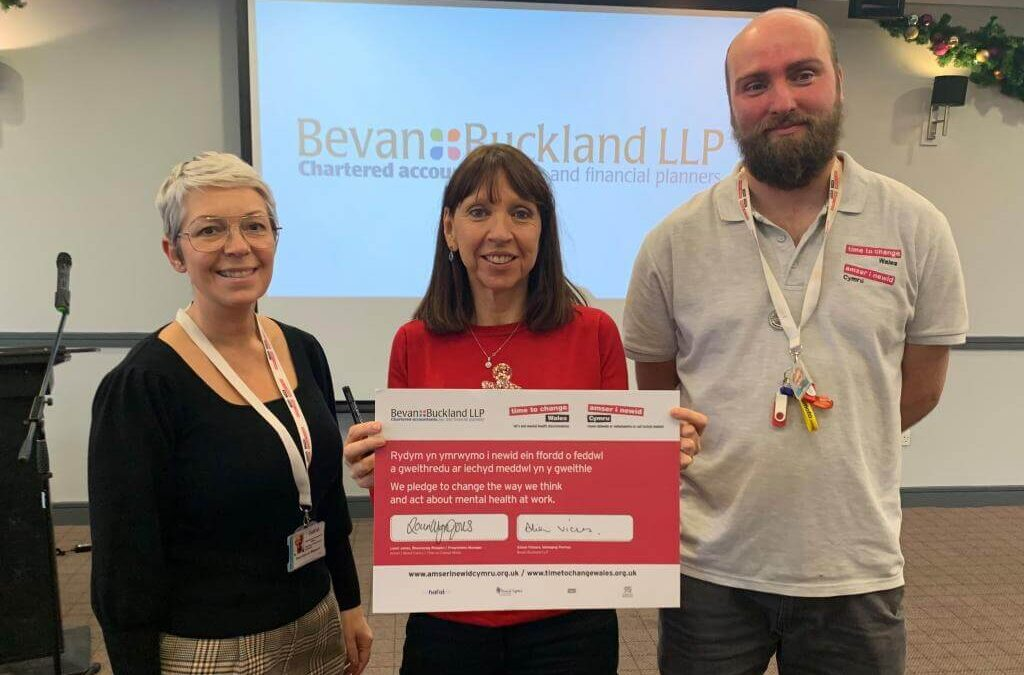 Established Accountancy Firm Signs The Time To Change Wales Pledge
